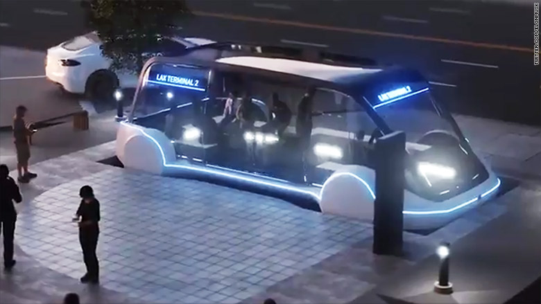 Лас-Вегас пригласил Илона Маска построить туннели под городом