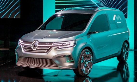Renault сделал фургон Kangoo более близким к пассажирским автомобилям