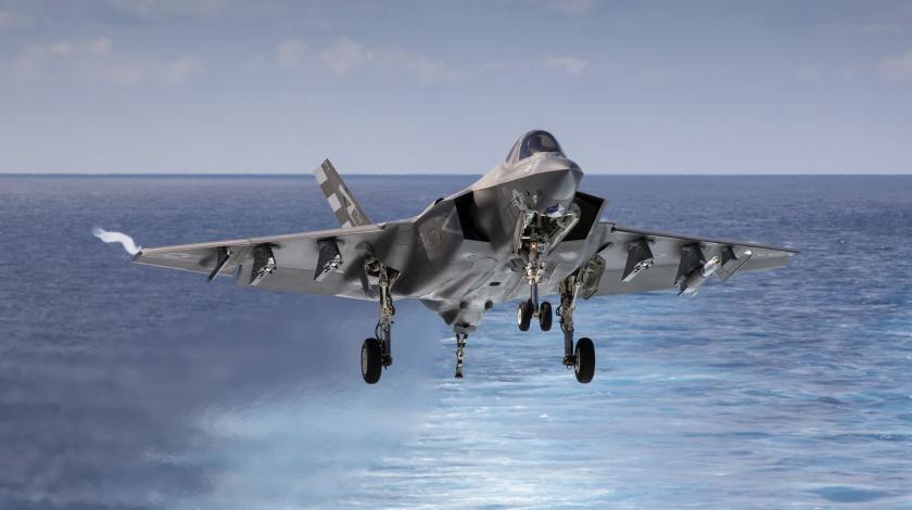 В Японском море идет подводная борьба за рухнувший F-35