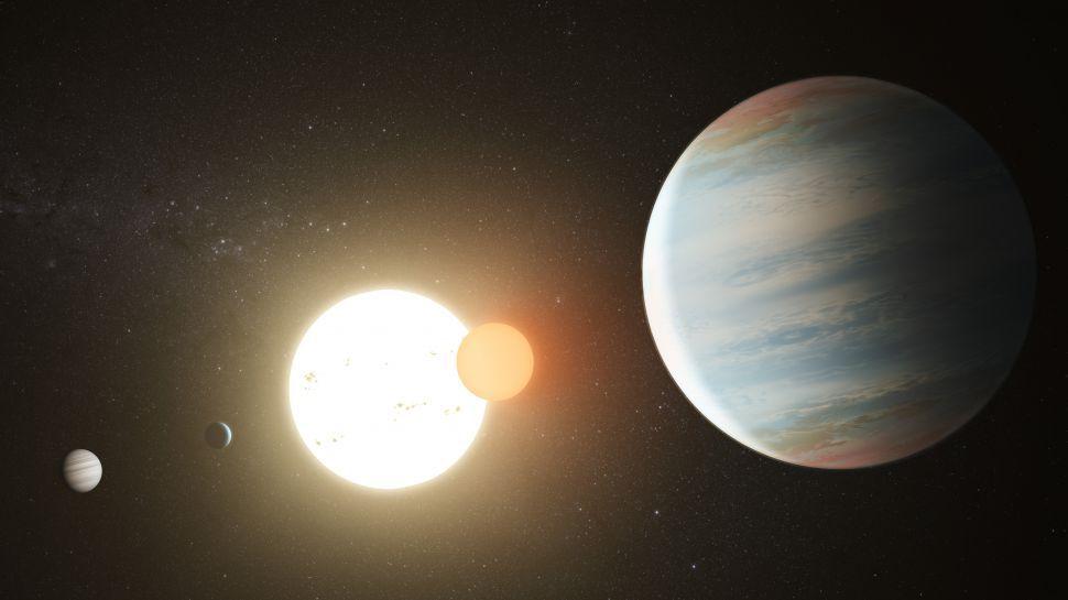 Астрономы открыли третью планету в двойной звездной системе Kepler-47