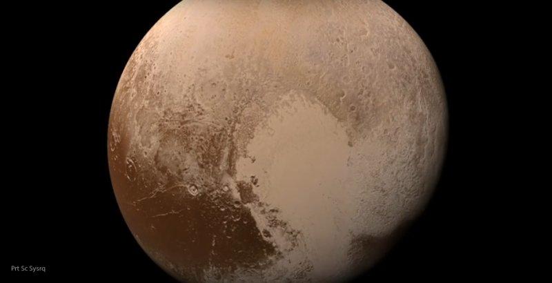 Ученые раскрыли секрет незамерзающего океана на Плутоне