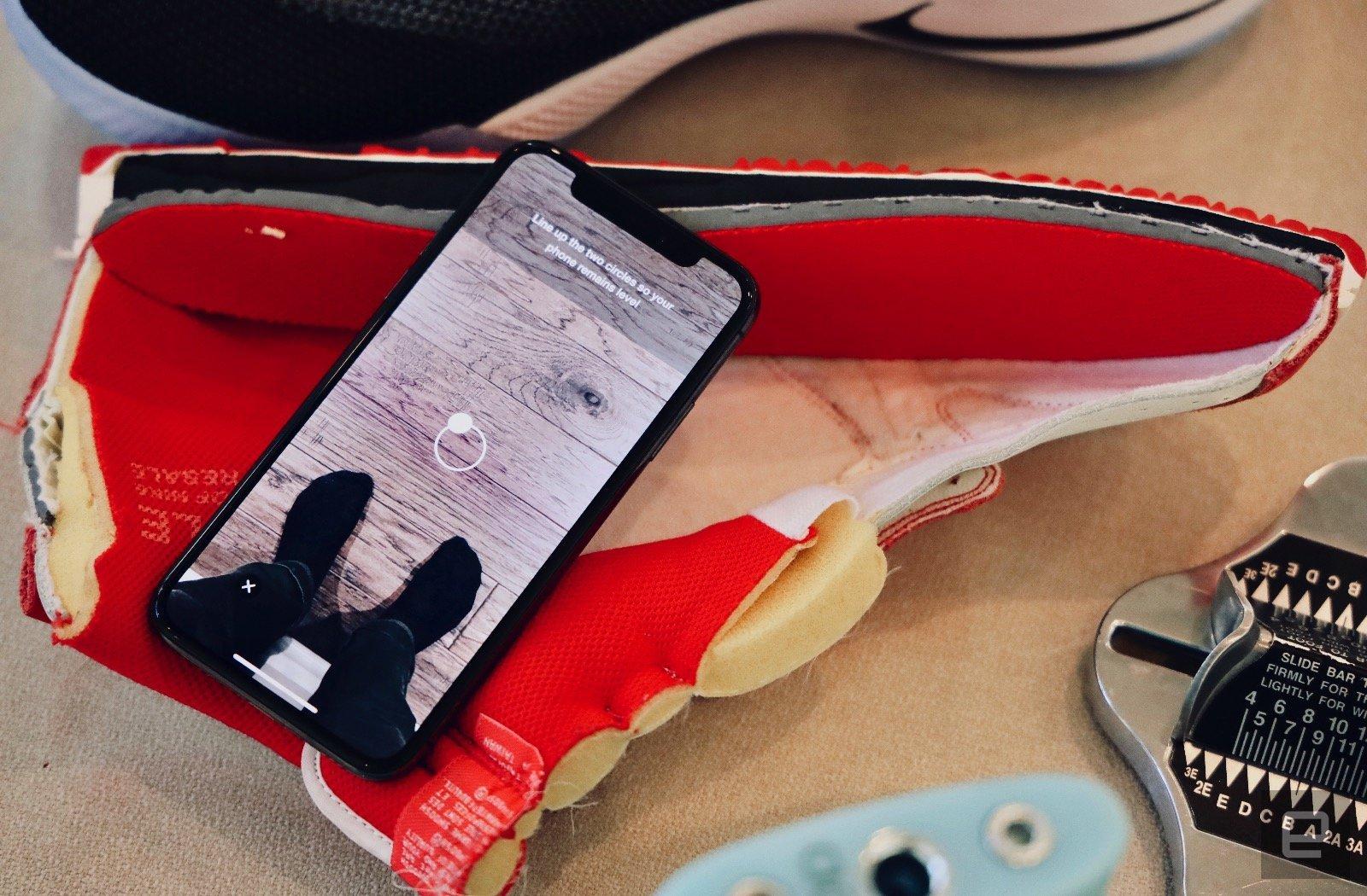 Израильский стартап обучил Nike определять размер ноги нарасстоянии