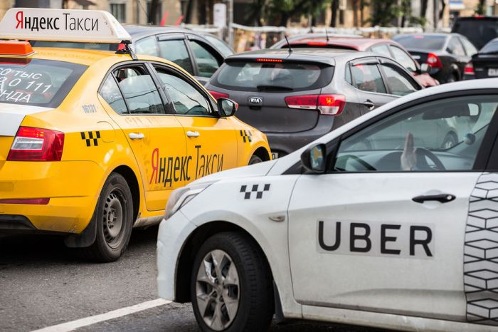 """Uber раскрыла убытки совместного предприятия с """"Яндексом"""""""