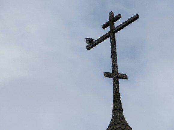 Московский патриархат обвинил противников строительства храма в попытке раскола общества