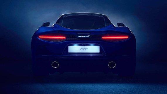Новый McLaren GT: Первый незакамуфлированный вид