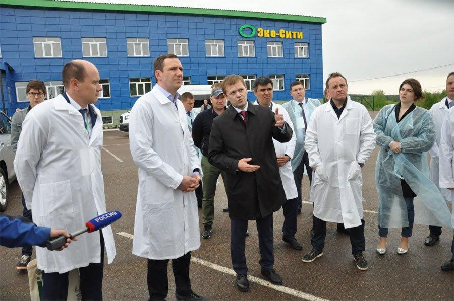 В Башкирии открыли крупный в регионе мусоросортировочный комплекс
