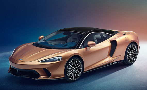 McLaren добавляет гранд турер GT