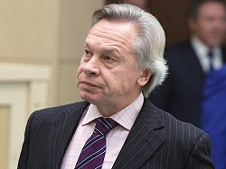 Пушков назвал слова Зеленского о возвращении Крыма белибердой