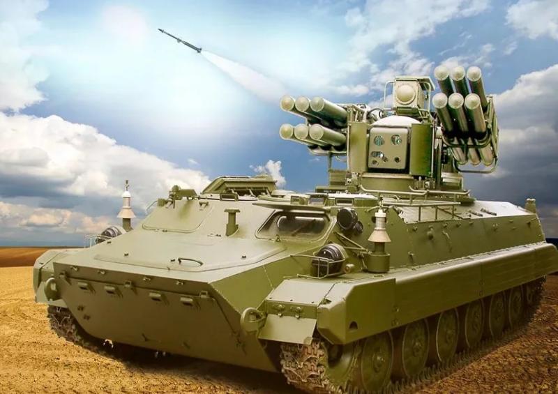 """Новейший ЗРК малой дальности """"Сосна"""" пойдёт в серию на шасси БМП-3"""