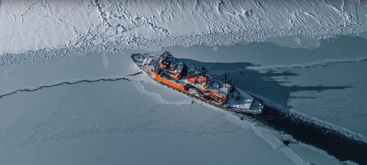 Уникальные кадры «Повелителя Арктики»