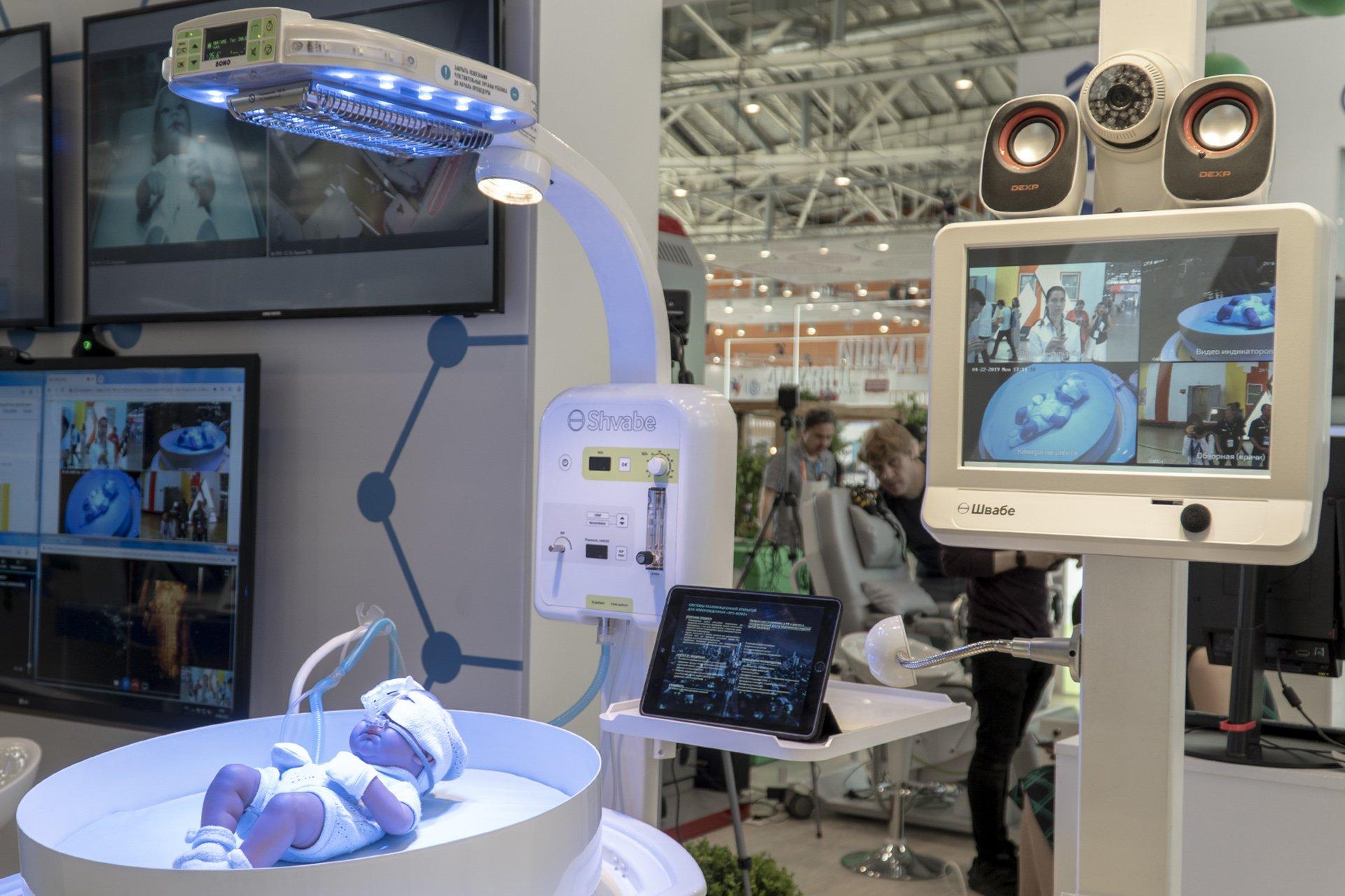 Российский концерн «Швабе» представил инновации для медицины на форуме в Москве