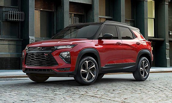 Chevrolet возрождает Trailblazer в виде малого кроссовера 2021 модельного года
