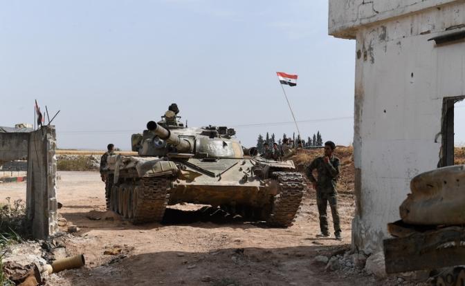 Армия Асада развязала бои против Ирана