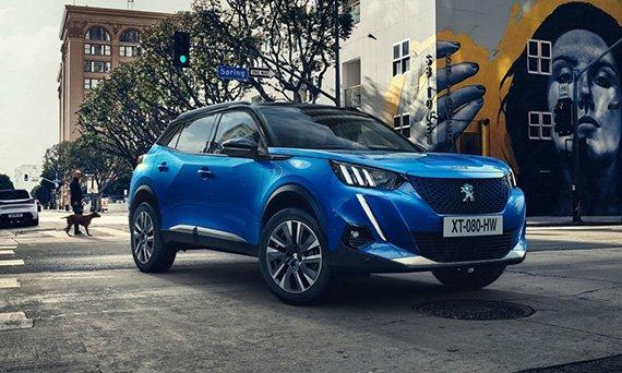 Peugeot предложит версию электромобиль нового 2008