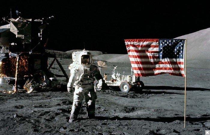 Озвучены неизвестные подробности высадки американцев на Луне 50 лет назад
