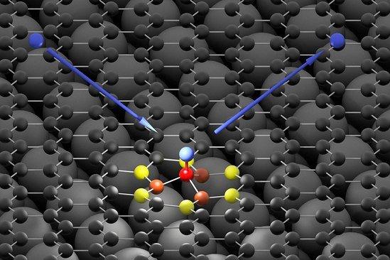 Скрученный графен превратили в аномальный магнит