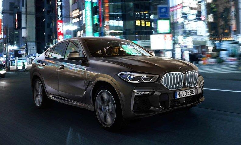 BMW сделал X6 длиннее и добавил более мощные двигатели