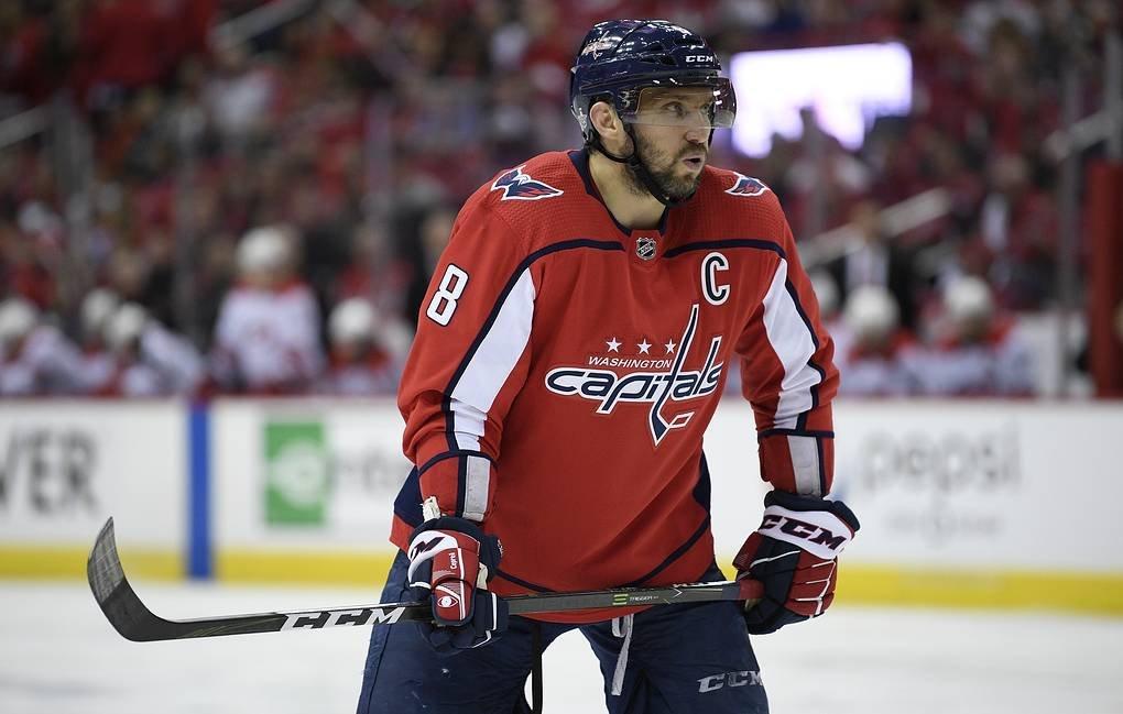 Овечкин назван лучшим игроком сезона НХЛ по версии американской премии ESPY
