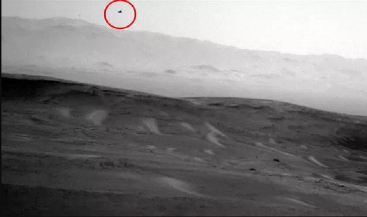 Марсоход NASA снял парящую птицу на Марсе, заявил эксперт