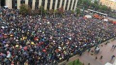 """МВД сообщило о 20 тыс. участниках митинга, """"белый счётчик"""" насчитал 60 тысяч"""
