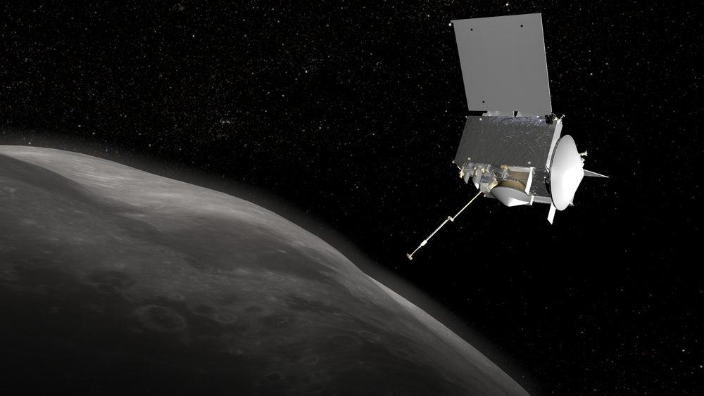 Выбраны места посадки OSIRIS-REx на астероид Бенну