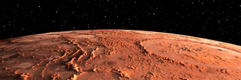 На Марсе обнаружены следы цунами