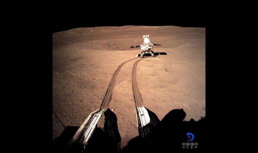 Китайский луноход «Юйту-2» проехал 271 метр по обратной стороне Луны