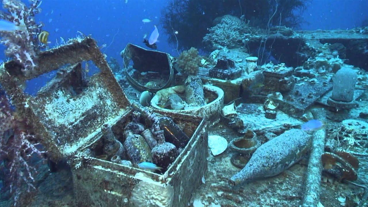 Возле острова Левита обнаружены следы 9, датированных III веком до н.э.