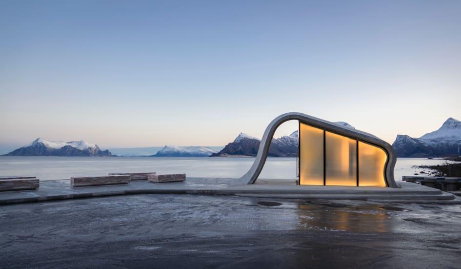 Самый красивый туалет в мире выглядит так