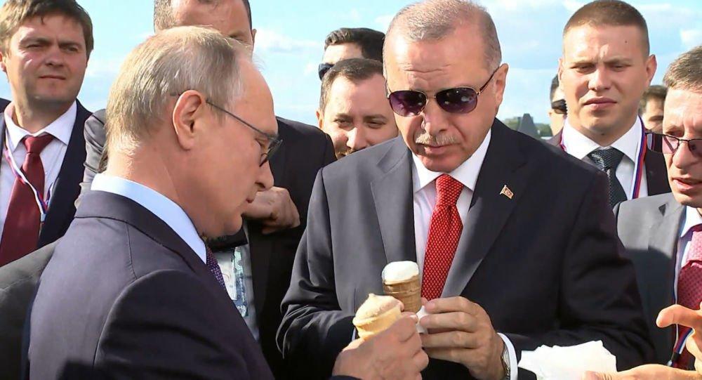 Зачем Путин угощал Эрдогана мороженым?