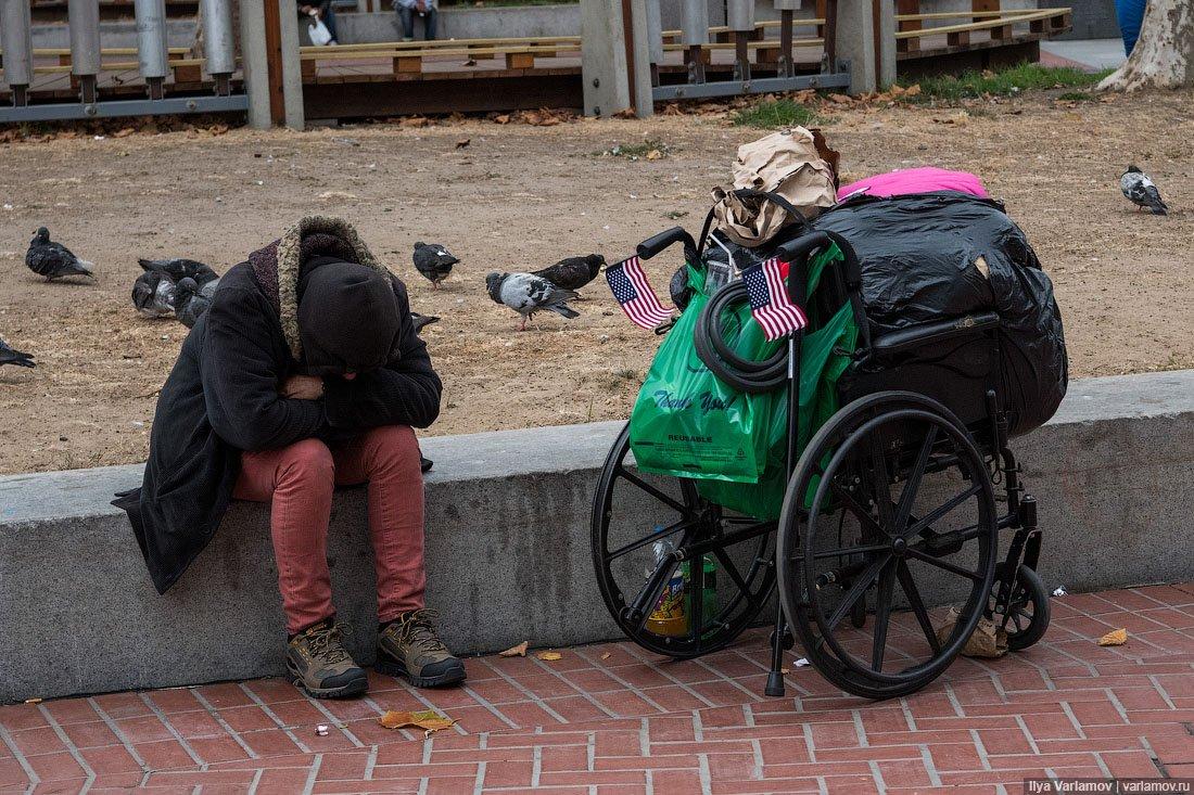 В США умирают от голода в 9 раз чаще, чем в России