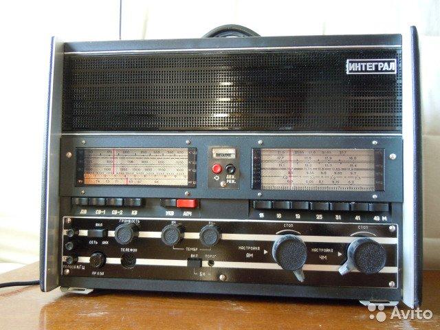 Интеграл, всеволновый войсковой радиоприемник 80-х годов