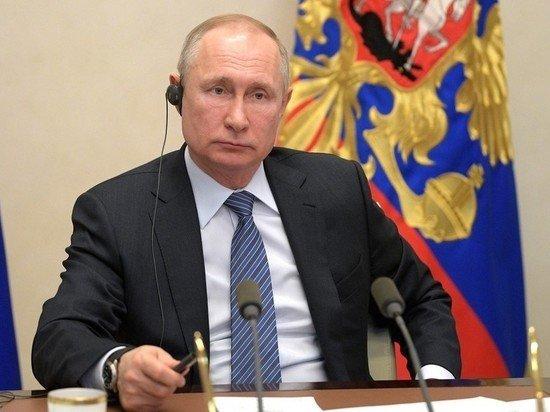Путин предложил отменить санкции на время пандемии коронавируса