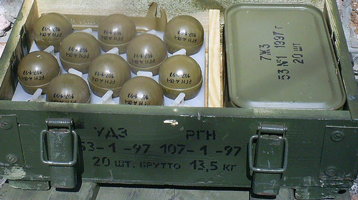 Росгвардия закупает ручные гранаты на 166 млн рублей.