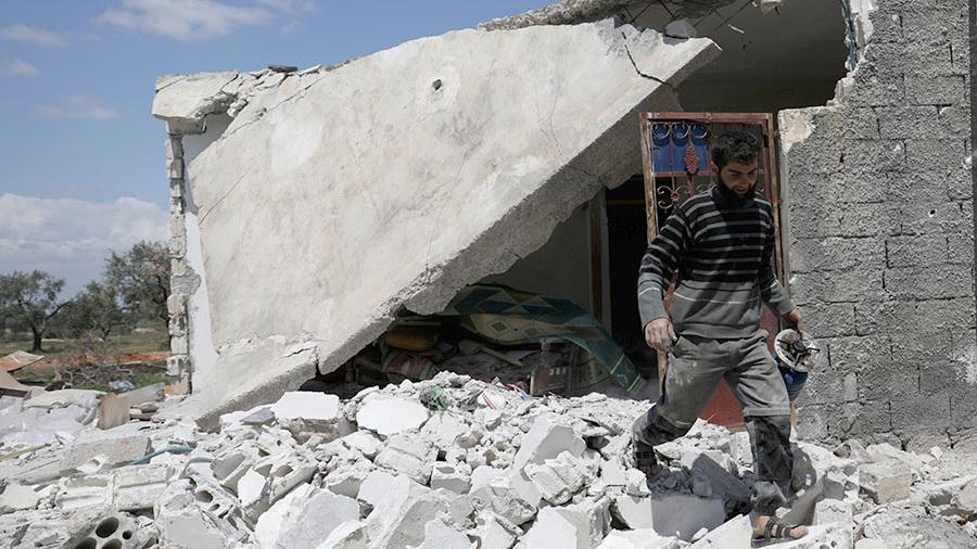 Три человека погибли в Сирии в результате ракетного удара Израиля