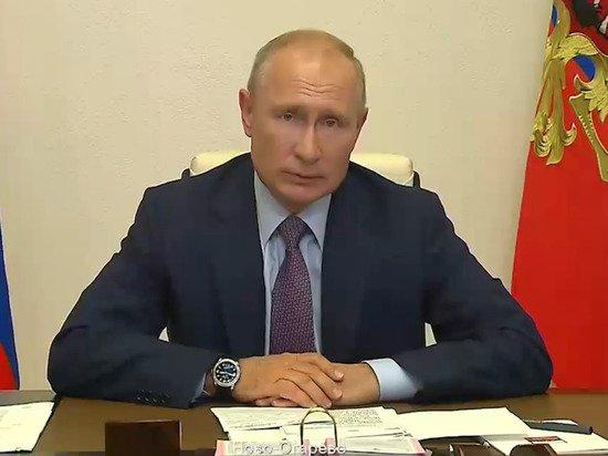Путин заявил, что понимает тех, кто проголосовал против поправок
