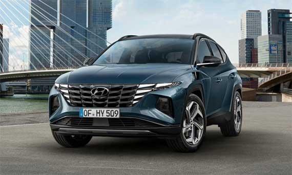 Следущее поколение Hyundai Tucson демонстрирует новый смелый дизайн