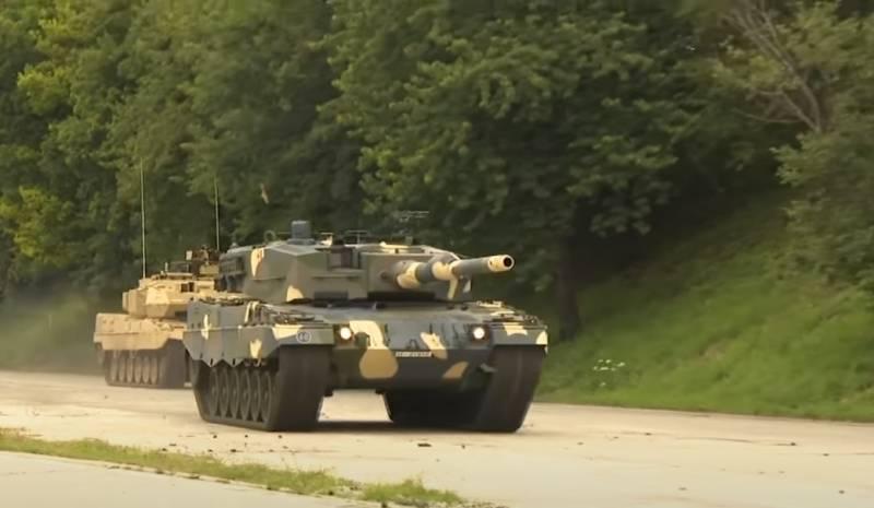 Придётся привыкать к ручной зарядке: венгерский генерал о замене танков Т-72 на Леопарды