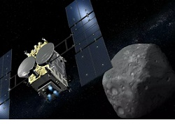 Японский зонд сбросил на Землю капсулу с образцами грунта с астероид