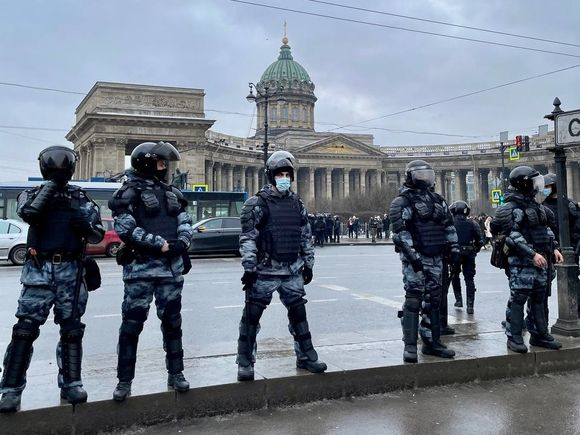 Петербургский омбудсмен потребовал открытого суда над полицейским, который пнул женщину