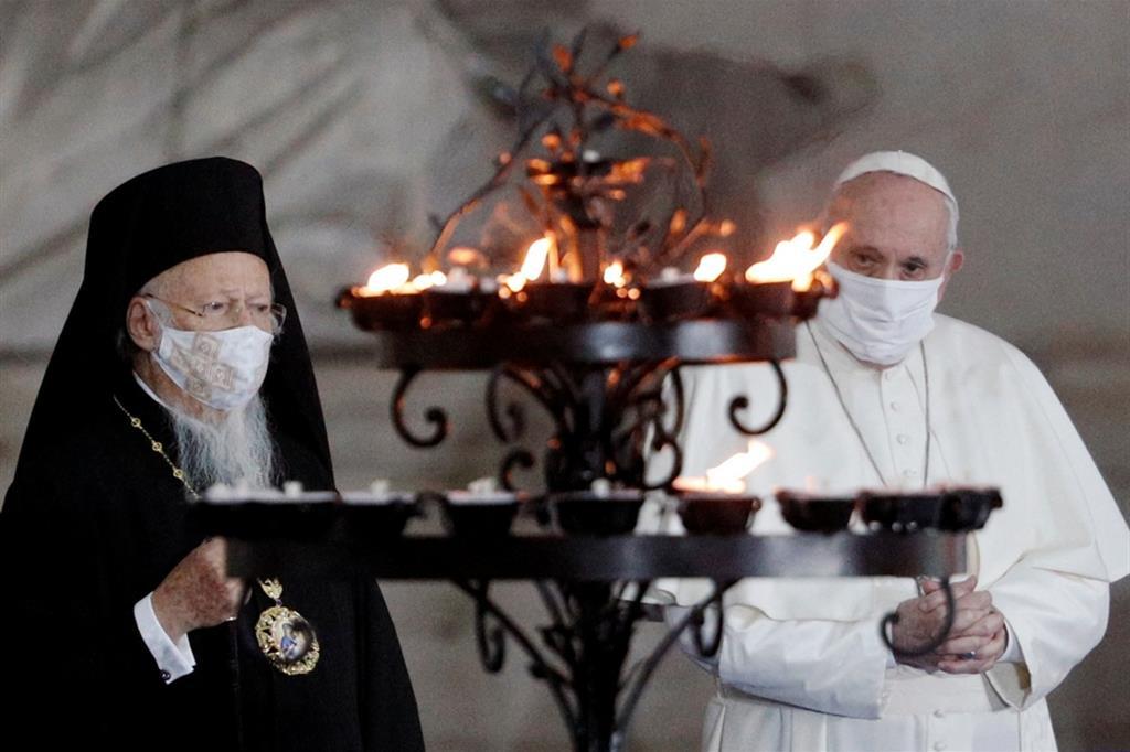 Патриарх Варфоломей об украинском национализме, унии с Ватиканом и ЛГБТ