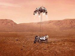 НАСА готовится посадить Персеверанс на Марс