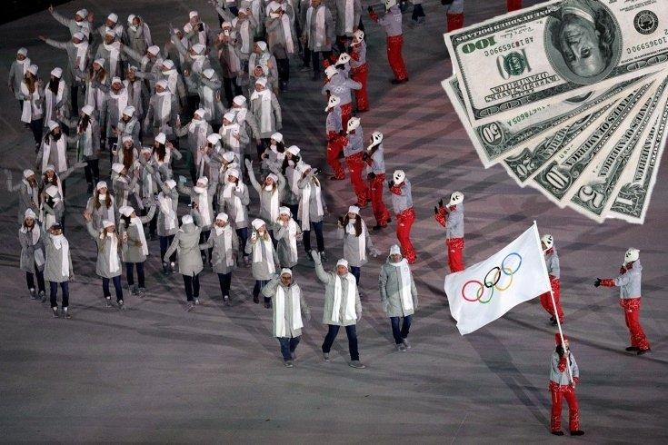 Российские спортсмены сраму не имут: хоть ползком!