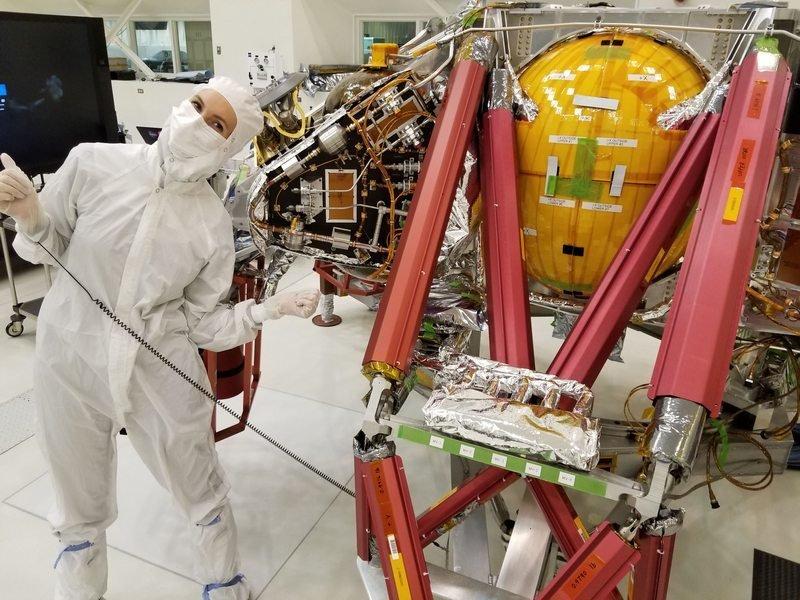 Петрозаводчанка оказалась в числе тех, кто отправлял в космос марсоход NASA