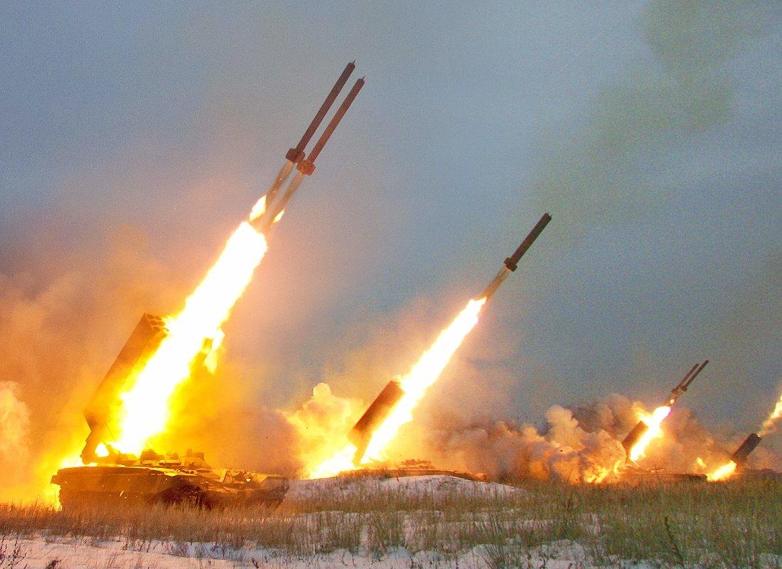 По всей России проводятся масштабные военные учения