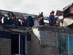 Взрыв, пожар и обрушение 3-этажного дома в Нижегородской области