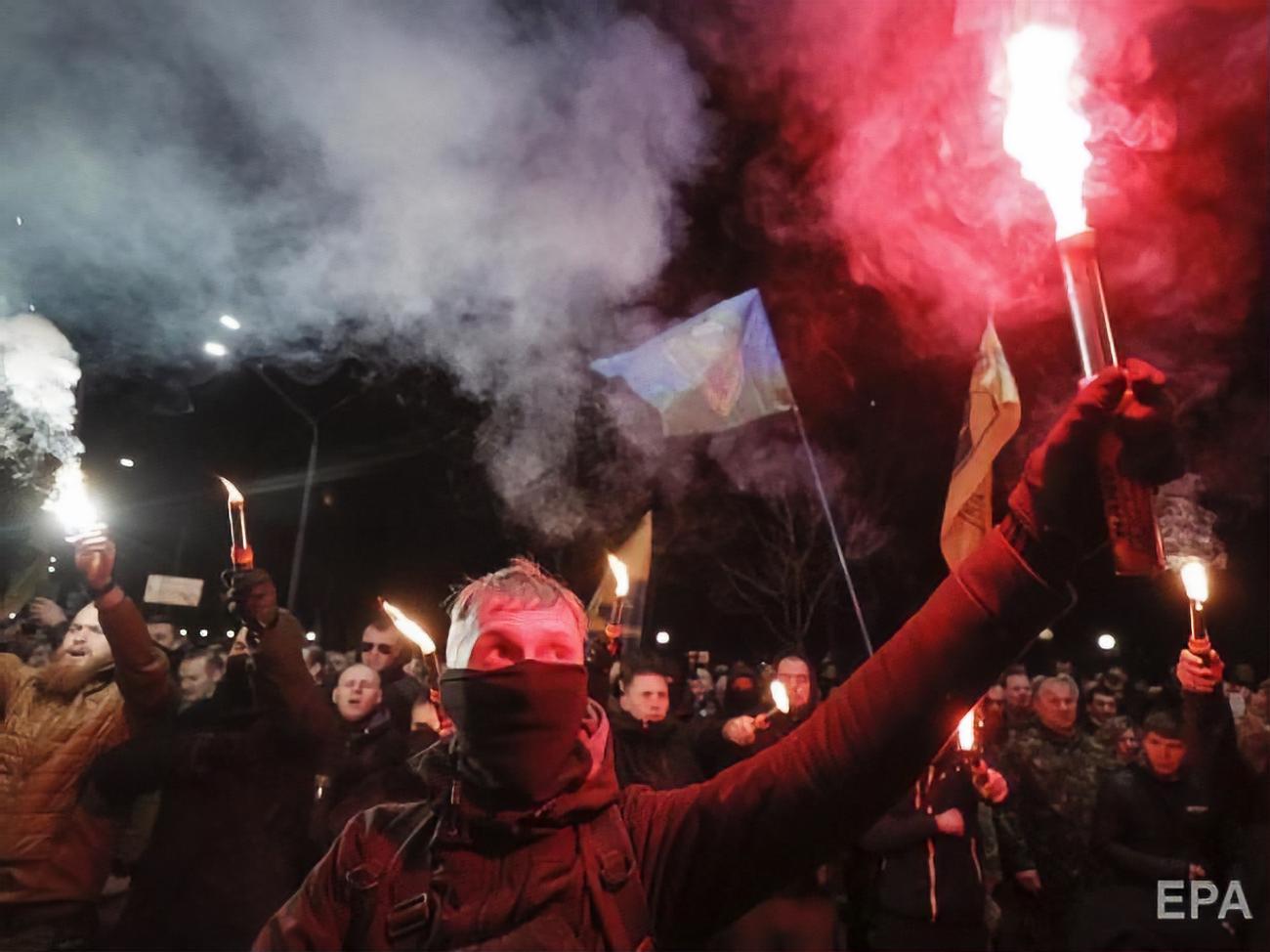 Украинские нацисты пройдут по Киеву маршем в честь дивизии СС «Галичина»