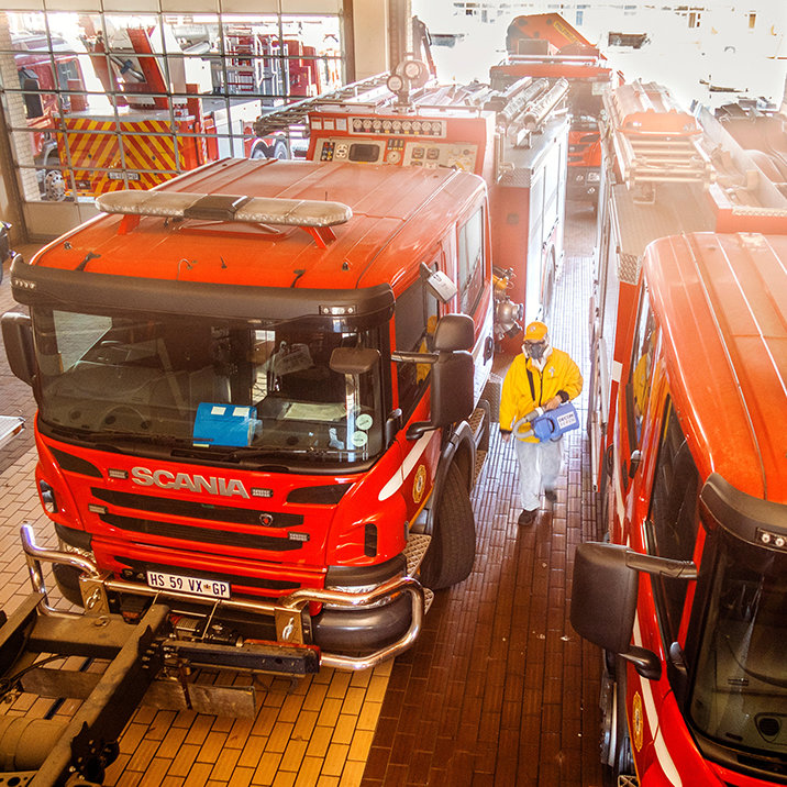 Борьба с пандемией в ЮАР: как помогали полиции, пожарным и пожилым
