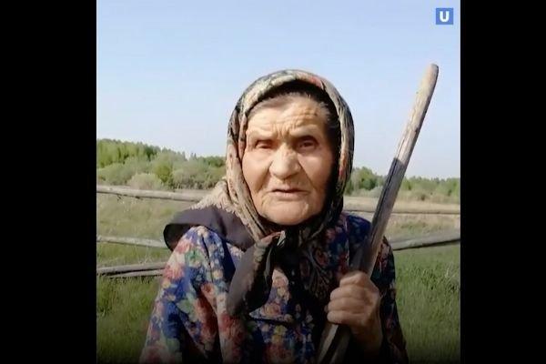 94-летняя ветеран ВОВ из тюменской деревни 5 лет живет без воды