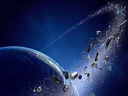 Эксперт заявил о 7 тыс. тонн космического мусора на орбитах Земли